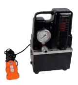 electric hydraulic pump for crimping machines and tools - etn